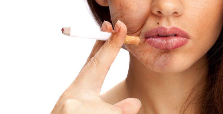 Курение – главный враг женской красоты