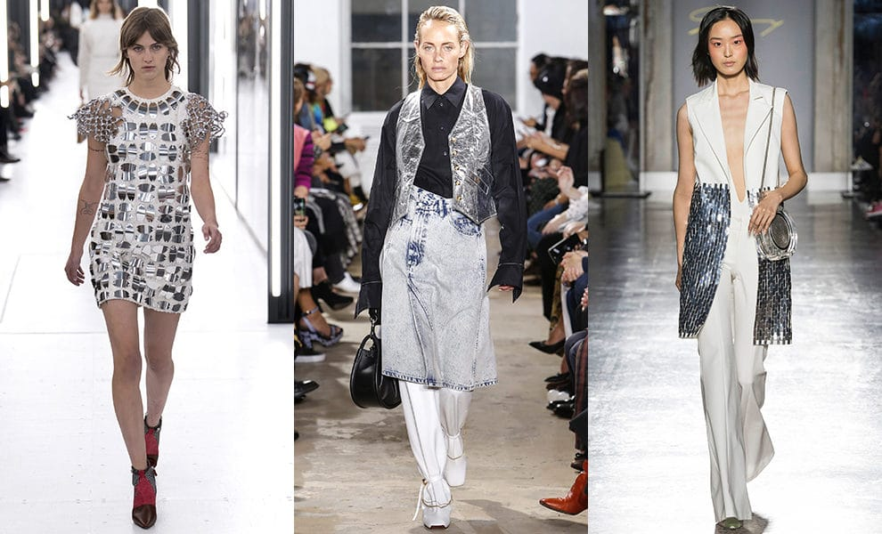 Louis Vuitton, Proenza Schouler, Genny весна-лето 2019
