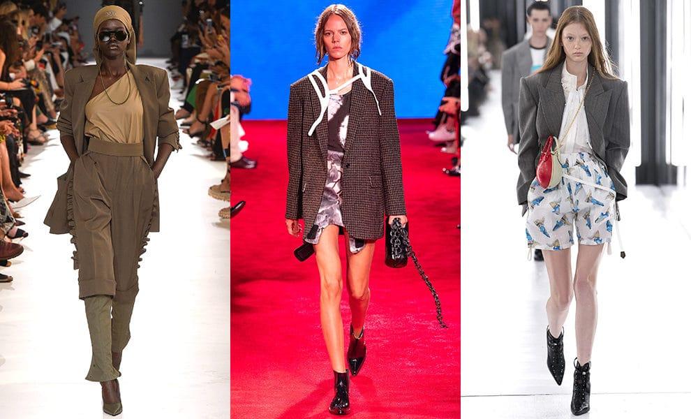 Max Mara, Calvin Klein 205W39NYC, Louis Vuitton весна-лето 2019