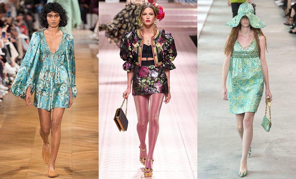 Paco Rabanne, Louis Vuitton, Badgley Mischka весна-лето 2019
