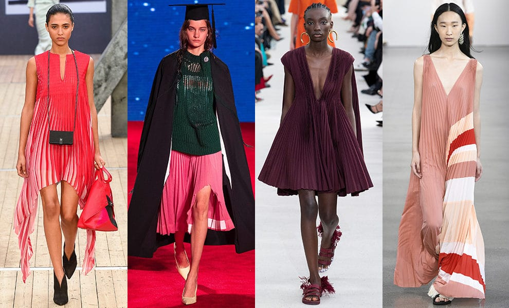 Akris, Calvin Klein 205W39NYC, Valentino, Tome весна-лето 2019