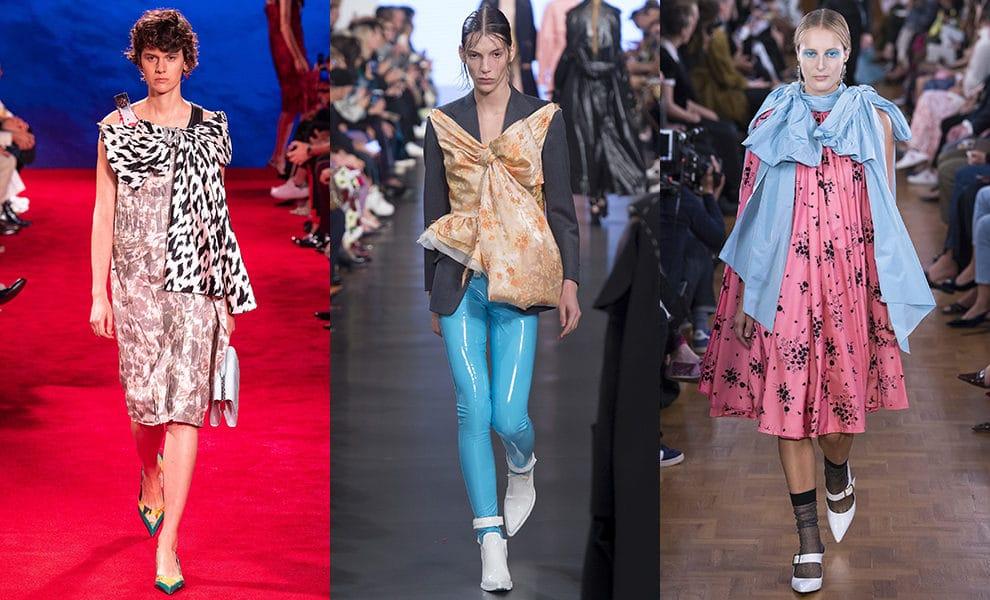 Calvin Klein 205W39NYC, Maison Margiela, Erdem весна-лето 2019