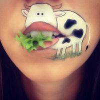 Визажист-блогер из Англии привлекла внимание своими работами с губами