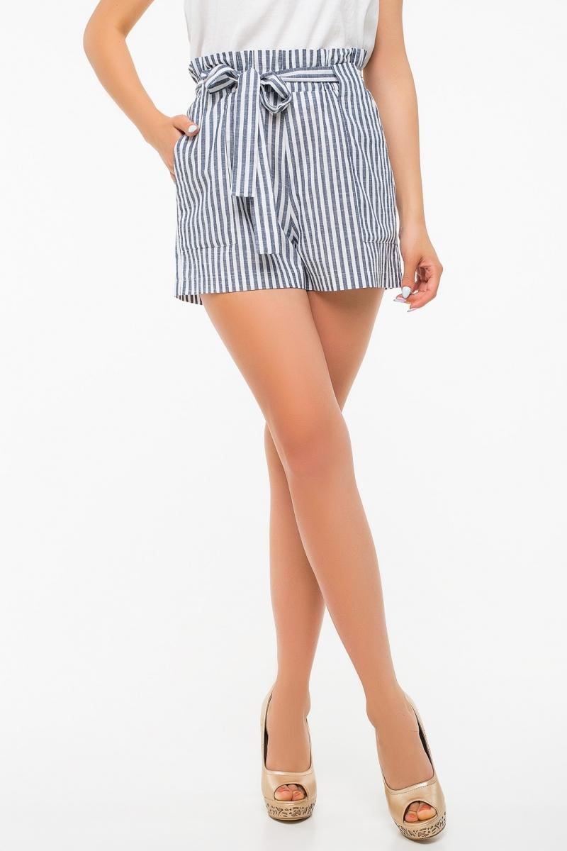 шорты льняные женские