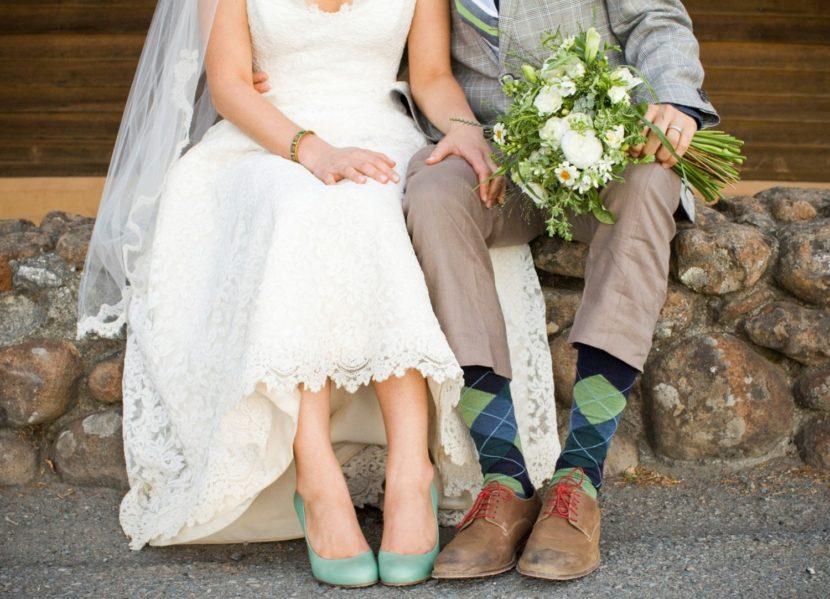 Туфли невесты: выбираем цвет