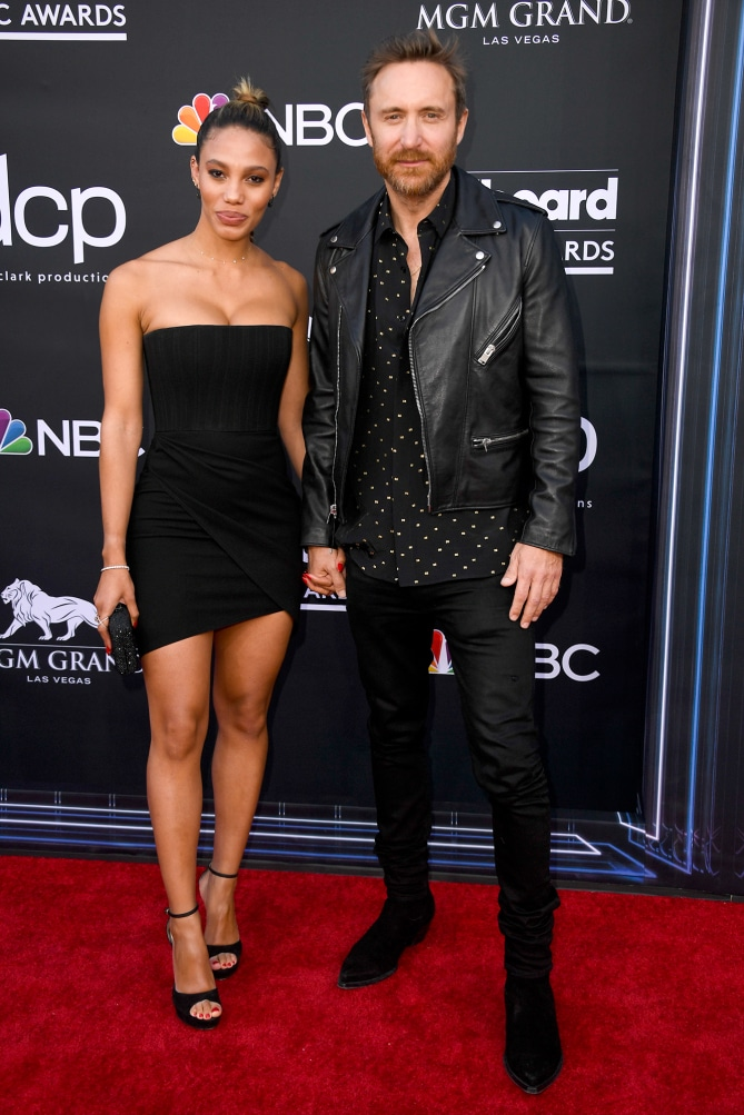 Дэвид Гетта и Джессика Ледон Billboard Music Awards 2019