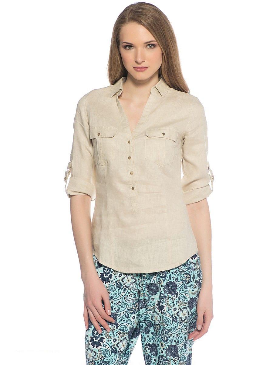 льняная футболка женская