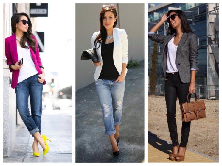 Женский пиджак: с чем носить и как выбрать