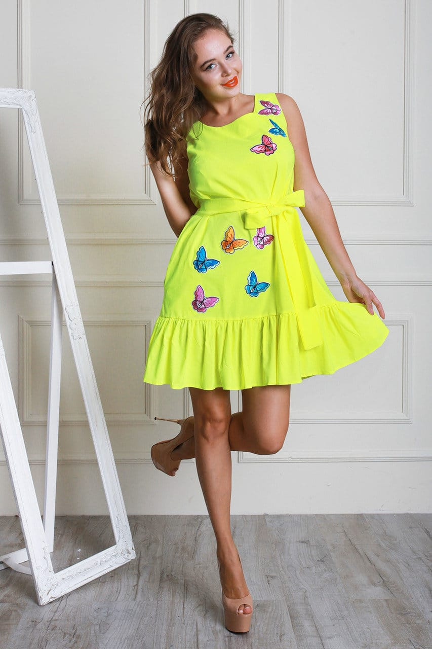 легкие платья на лето