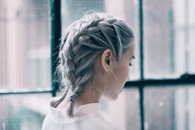 Как заплести косы на коротких волосах