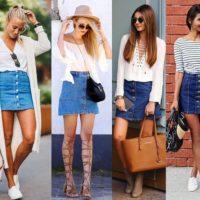 Модные джинсовые юбки 2019-2020 — тенденции, фото, стильные образы