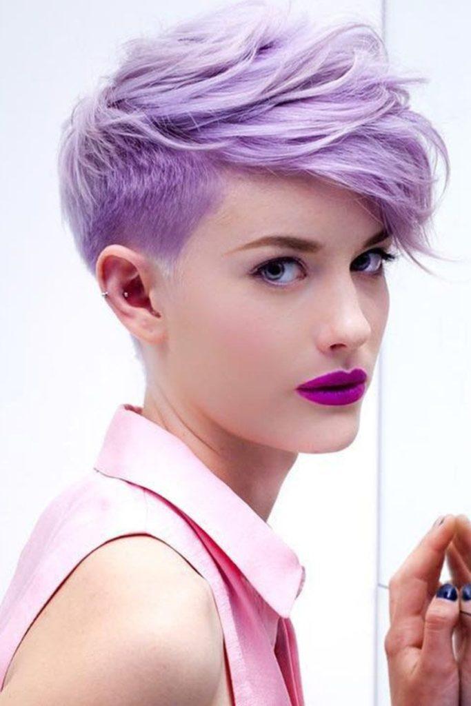 Необычный Фиолетовый Пикси