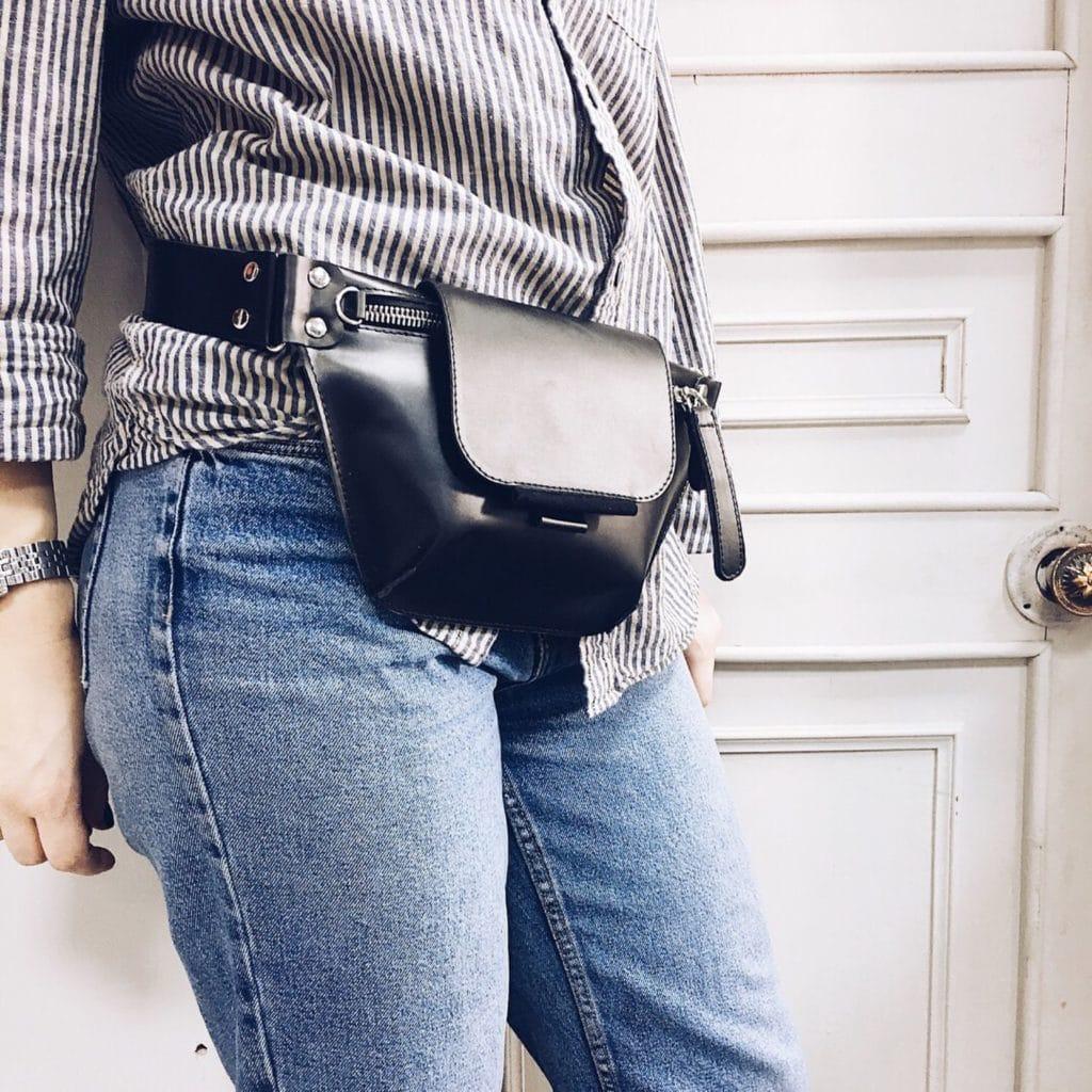 Женские поясные сумочки