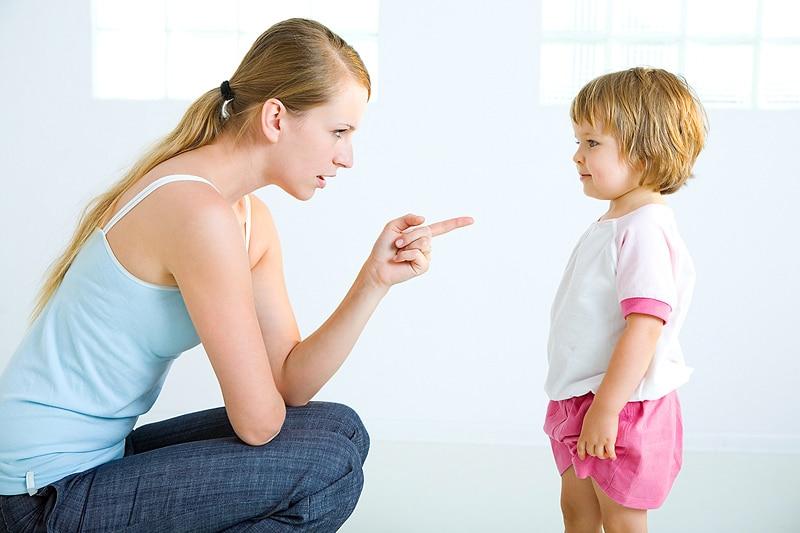 Как правильно наказывать ребенка 2-3 лет