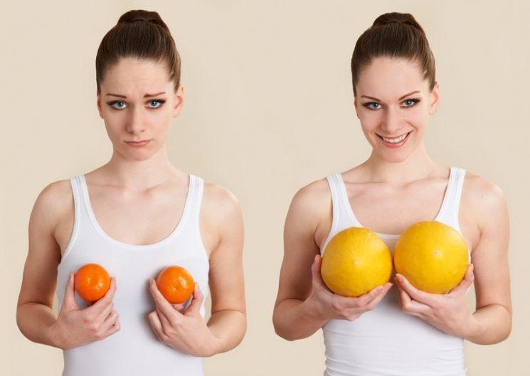 Быстрый тест: как характер женщины зависит от формы груди