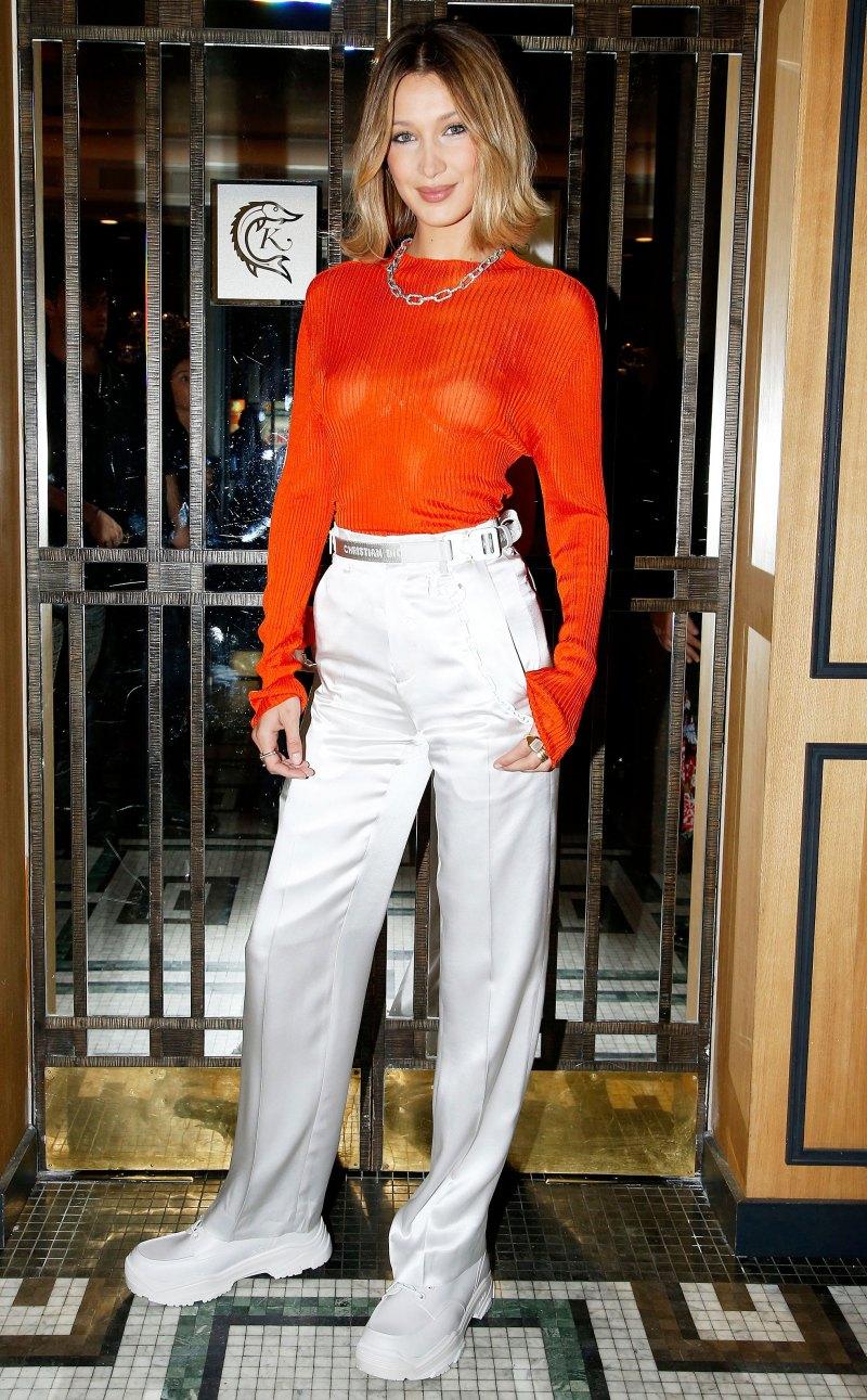 стильный образ Белла Хадид