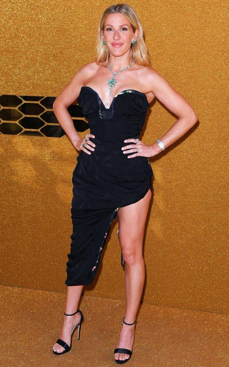 Элли Голдинг в коротком платье