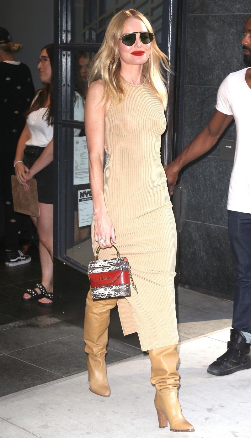 Кейт Босуорт в стильном платье