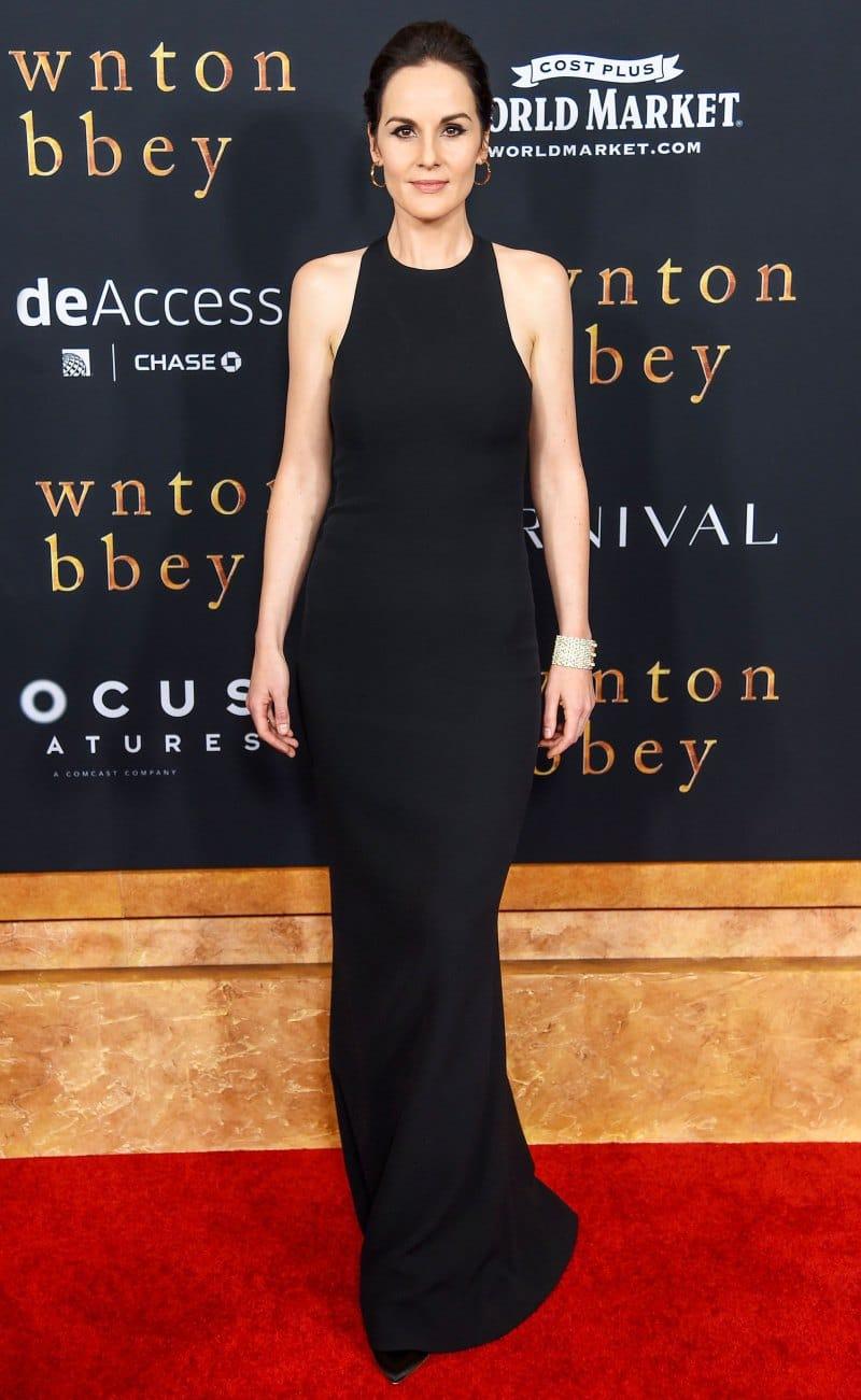 Мишель Докери в вечернем платье