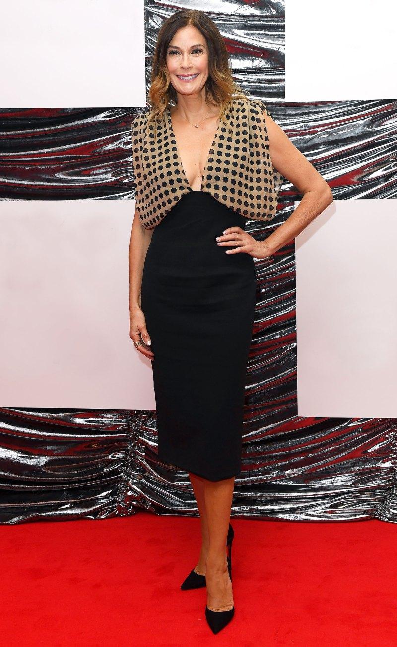 Тери Хэтчер в модном платье