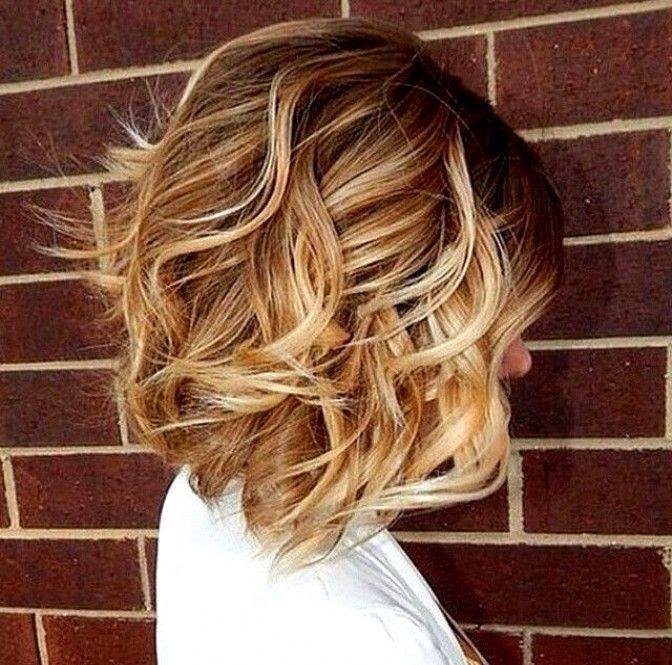 Короткая стрижка на кудрявые волосы