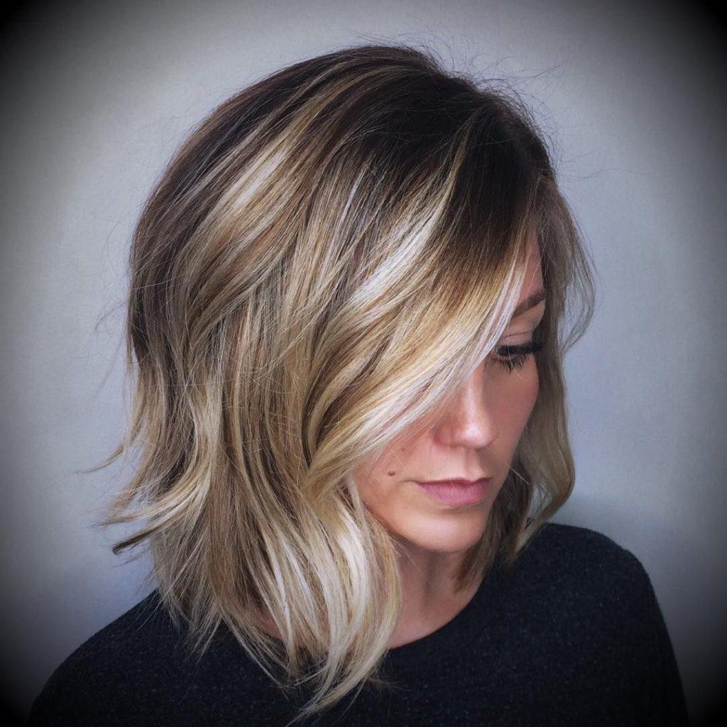 Каскадная стрижка на короткие волосы