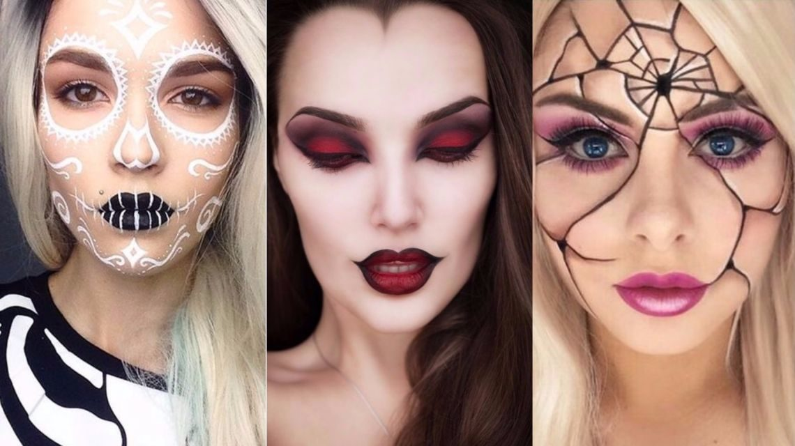 25 идей для сексуального и страшного макияжа на Хэллоуин