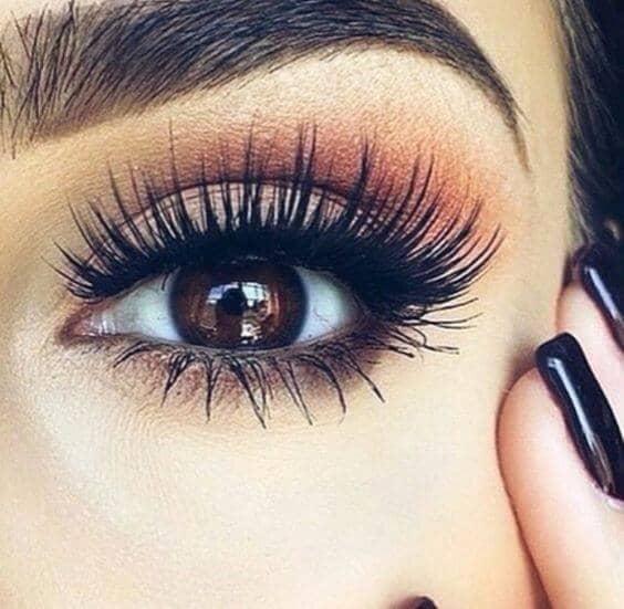 Макиж глаз пыльная роза