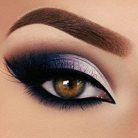 Полуночные огни макияж глаз
