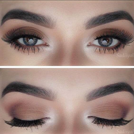 Натуральный макияж глаз