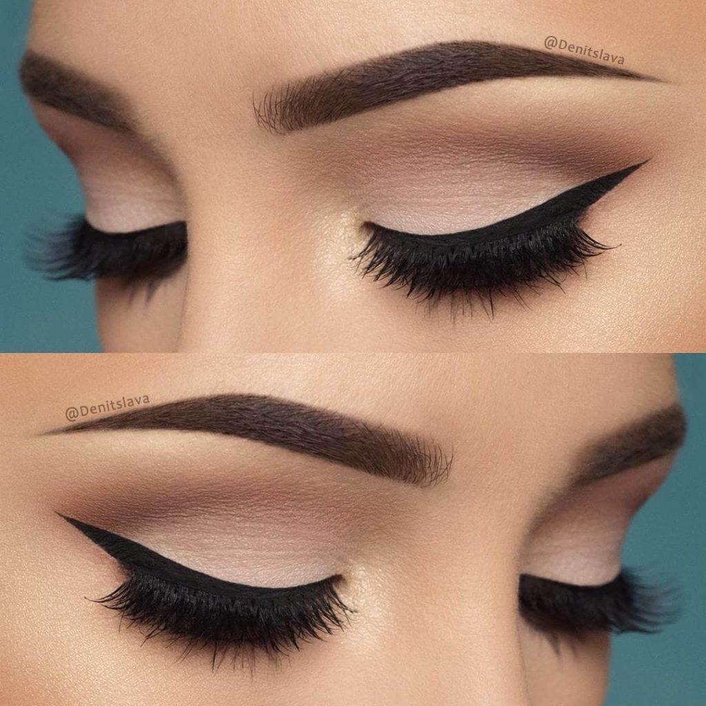 Пастельный макияж глаз