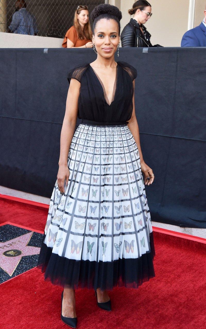 Керри Вашингтон в модном платье