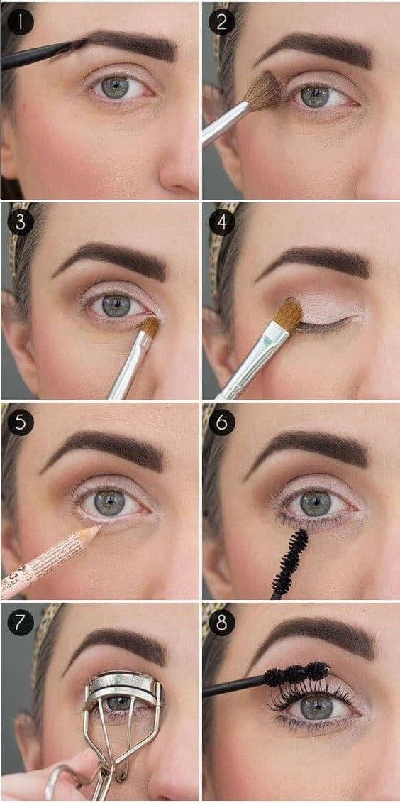 Как сделать глаза больше с помощью макияжа: пошаговая инструкция