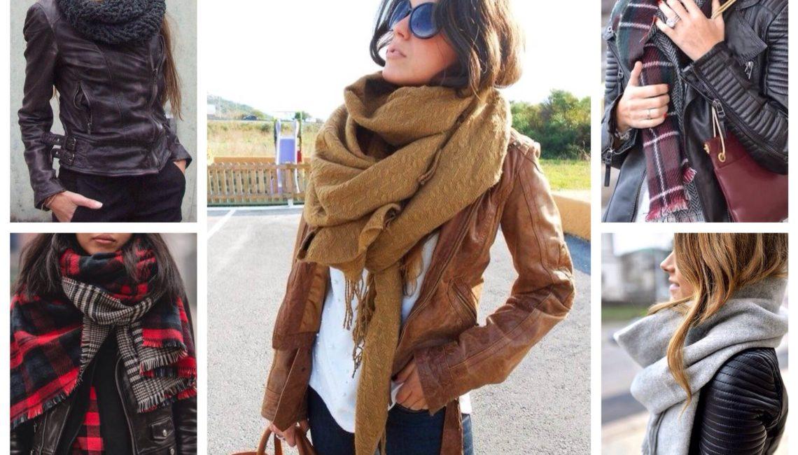 27 идей для модного лука с шарфом: Осень-зима 2019/2020