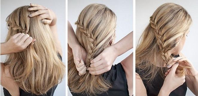 Красивые прически на длинные волосы фото поэтапно