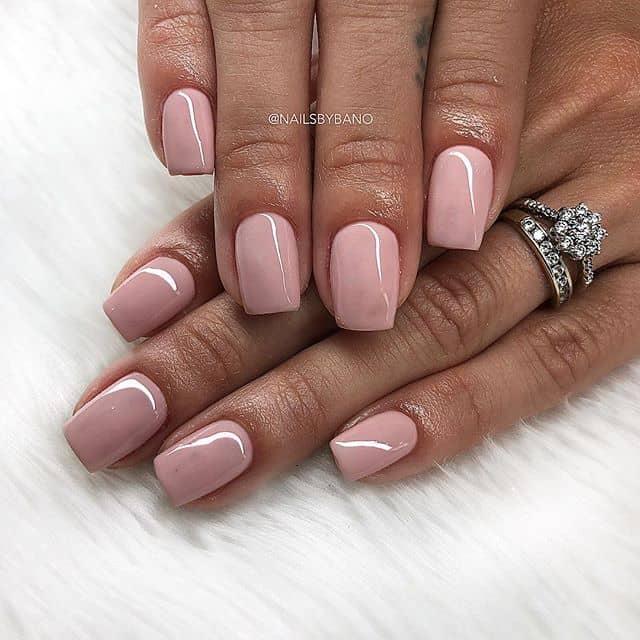 Маникюр песчаная роза на короткие ногти фото