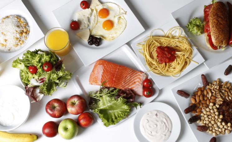 3 варианта сбалансированого рациона на день до 1000 калорий