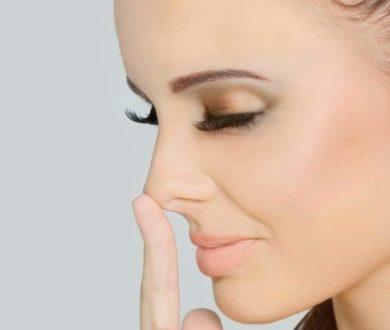 Уменьшаем нос с помощью макияжа