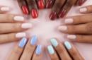 21 потрясающая идея для акрилового маникюра на короткие ногти